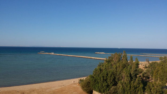 Hurghada - Blick auf das Rote Meer