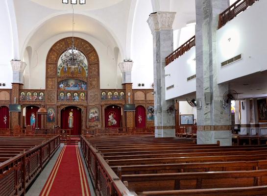 St. Shenouda-Vater-der-Eremiten Kathedrale