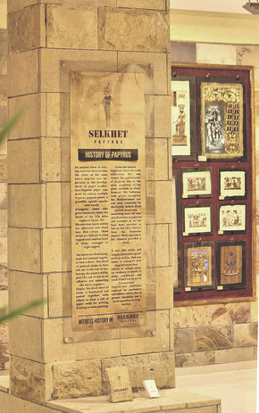 Selkhet Papyrus Galerie